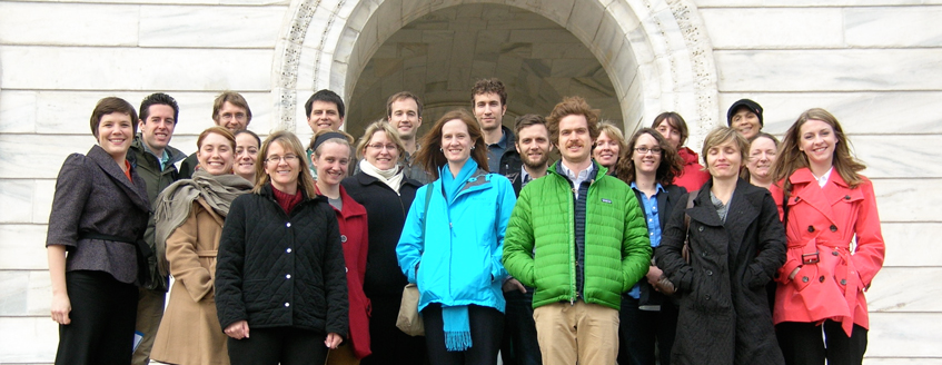 A Boreas group visits the capital building