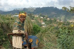 Tanzanian woman