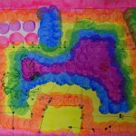 Sarita Wetland Watercolor Map