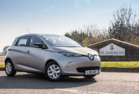 You can hire electric cars and vans across St Andrews, at affordable pay-as-you-go rates