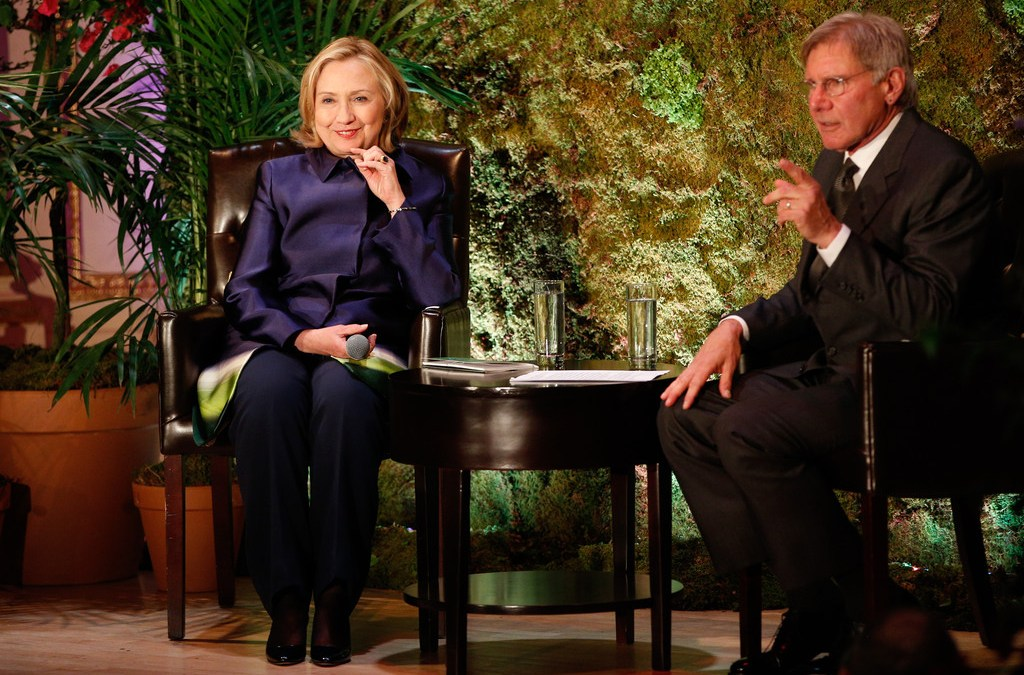 Harrison Ford, Hillary Clinton Host Conservation International Dinner
