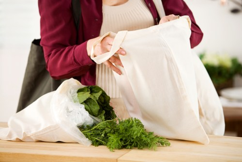 Canvas shopping bags may not be as eco-friendly as we thought.