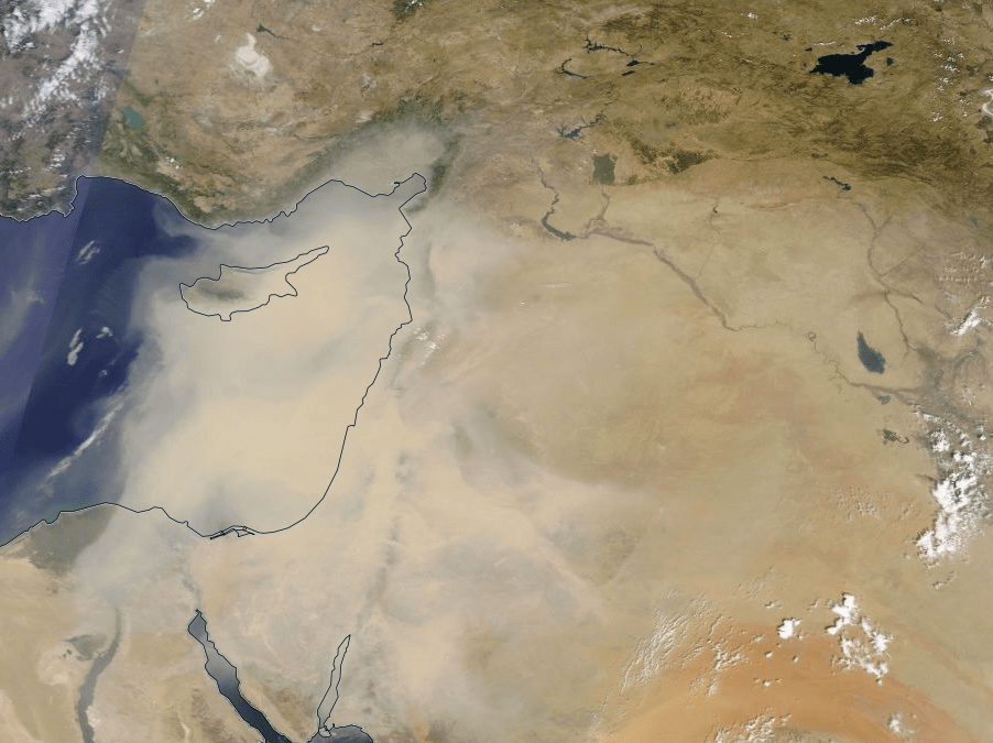 Massive 2015 Sandstorm Caused by Climate Change