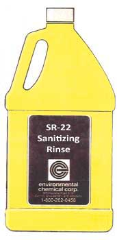 SR-22 Sanitizing Rinse