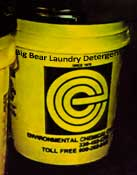 Big Bear Industrial Laundry Detergent