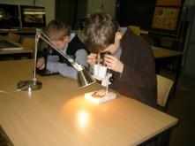 Utilisation de matériels scientifiques