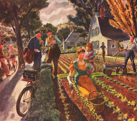 Victory Gardens in WWII | Envisioning The American Dream