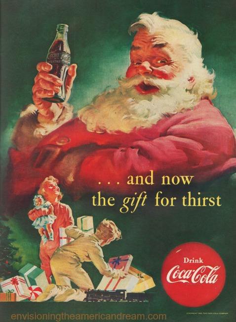 Santa Claus And Coke Envisioning The American Dream