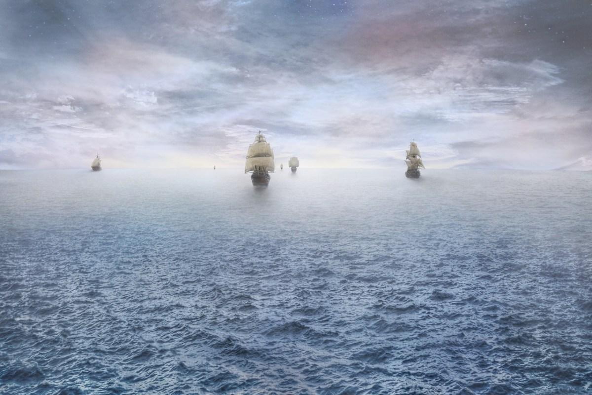 Pirate Ships approaching