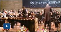 XIII Concierto de Temporada 2010 de la Orquesta Sinfónica Eafit.
