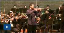 VIII Concierto de temporada 2012. La Orquesta junto a Jóvenes Talentos