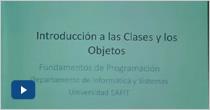 Protegido: Introducción a las Clases y los Objetos Parte I