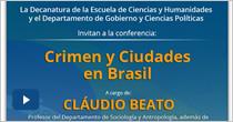 Crimen y ciudades en Brasil