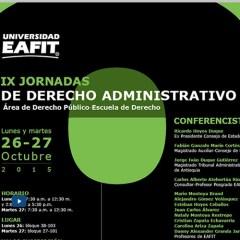 IX Jornadas de Derecho Administrativo