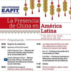 La presencia de China en América Latina
