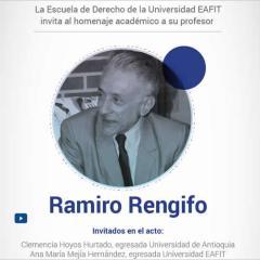 Homenaje académico al profesor Ramiro Rengifo