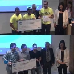 Ceremonia de premiación 11° Concurso Iniciativas Empresariales EAFIT-2016