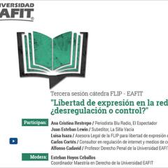 Libertad de expresión en la red ¿desregulación o control?