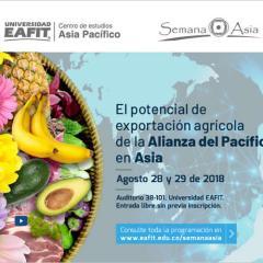El potencial de exportación agrícola de la Alianza del Pacífico en Asia