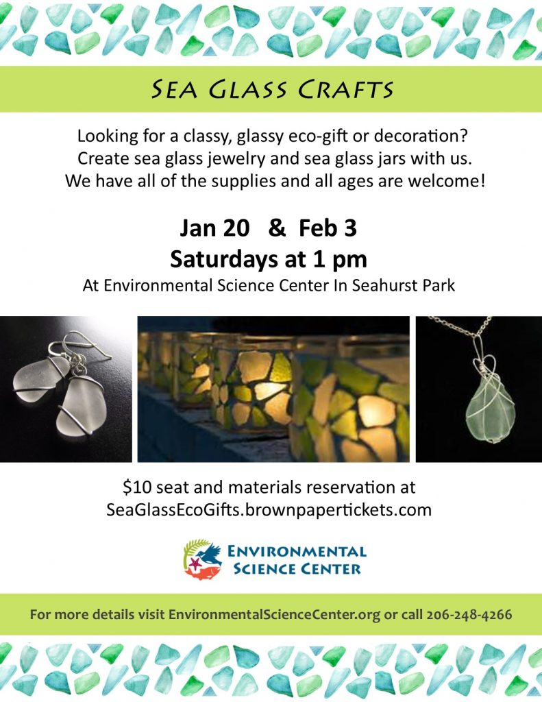 2018 Sea Glass Gift Making Events