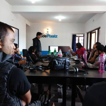 WordCamp Nepal 2014 Initial Speaking Session