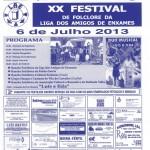 XX Festival de Folclore do Rancho Folclórico da Liga dos Amigos de Enxames
