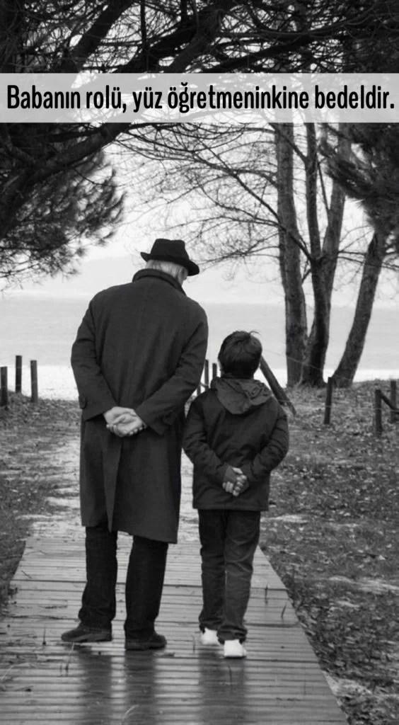 Babanın rolü yüz öğretmeninkine bedeldir 564x1024 - Baba İle İlgili Resimli Sözler - En Yeni Baba İle ilgili Sözler, guzel-sozler