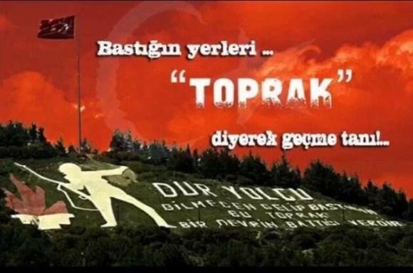 Bastığın yerleri toprak diyerek geçme tanı.. - Türk Ve Türkiye İle İlgili Resimli Sözler - Türk Ve Türkiye ile ilgili sözler, guzel-sozler