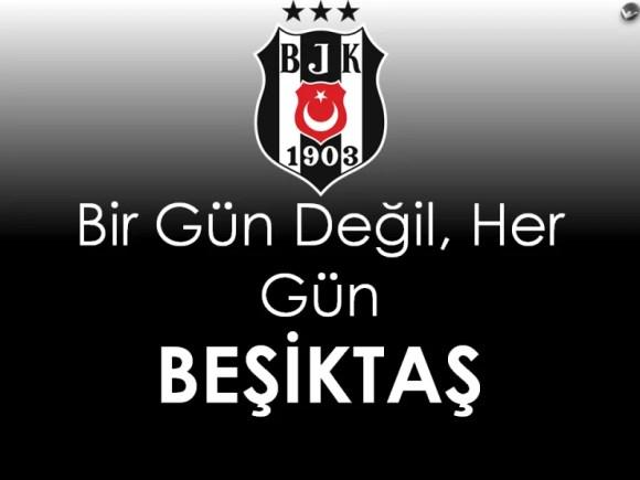 Bir gün değil her gün Beşiktaş - Beşiktaş İle İlgili Resimli Sözler - Beşiktaş Sözleri Ve Kareografileri, resimli-sozler