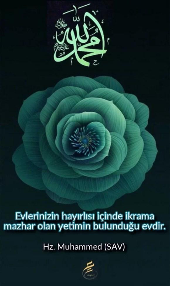 Evlerinizin hayırlısı içinde ikrama mazhar olan yetimin bulunduğu evdir 611x1024 - Resimli Hz Muhammed (SAV) Sözleri - İslam Peygamberi Hz Muhammed Sözleri,Hz Muhammed Hadisleri, guzel-mesajlar, dini-sozler