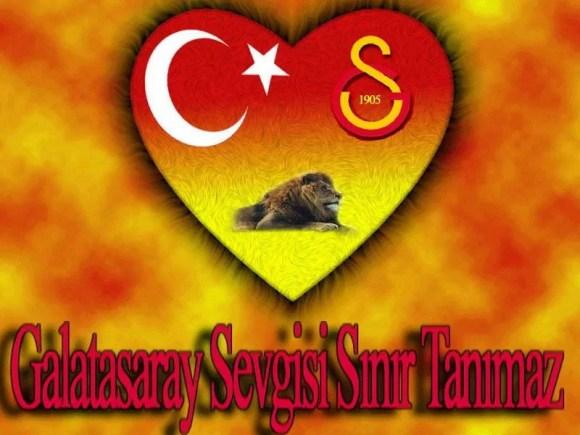Galatasaray sevgisi sınır tanımaz - Galatasaray İle İlgili Resimli Sözler - Galatasaray Sözleri Ve Kareografileri, resimli-sozler