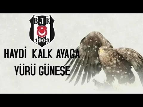 Haydi kalk ayağa yürü güneşe - Beşiktaş İle İlgili Resimli Sözler - Beşiktaş Sözleri Ve Kareografileri, resimli-sozler