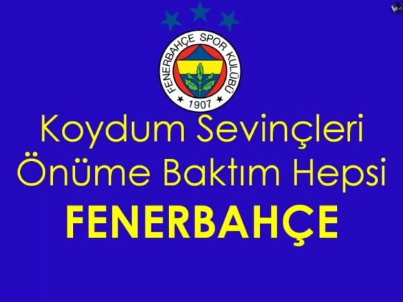 Koydum sevinçleri önüme baktım hepsi fenerbahçe - Fenerbahçe İle İlgili Resimli Sözler - Fenerbahçe Sözleri Ve Kareografileri, resimli-sozler