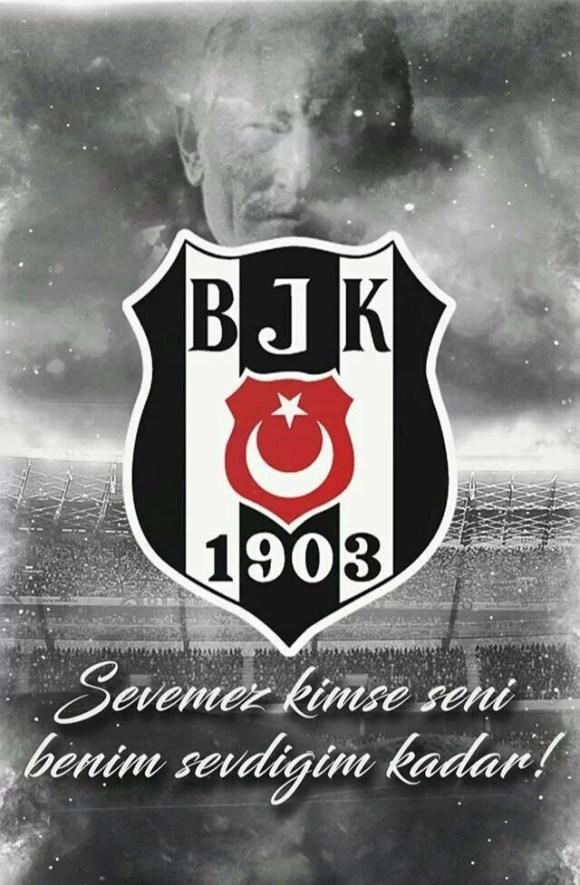 Sevemez kimse seni benim sevdiğim kadar - Beşiktaş İle İlgili Resimli Sözler - Beşiktaş Sözleri Ve Kareografileri, resimli-sozler