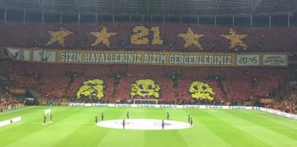 Sizin hayalleriniz bizim gerçeklerimiz - Galatasaray İle İlgili Resimli Sözler - Galatasaray Sözleri Ve Kareografileri, resimli-sozler