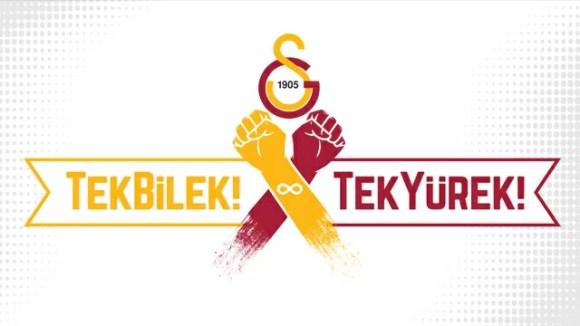Tek bilek tek yürek - Galatasaray İle İlgili Resimli Sözler - Galatasaray Sözleri Ve Kareografileri, resimli-sozler