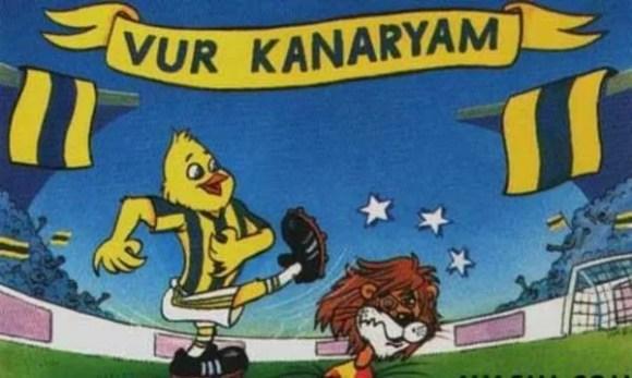 Vur kanaryam - Fenerbahçe İle İlgili Resimli Sözler - Fenerbahçe Sözleri Ve Kareografileri, resimli-sozler