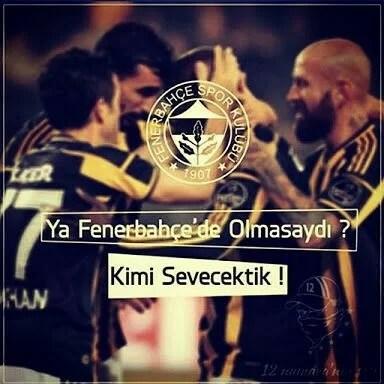 Ya fenerbahçe olmasaydı kimi sevecektik - Fenerbahçe İle İlgili Resimli Sözler - Fenerbahçe Sözleri Ve Kareografileri, resimli-sozler