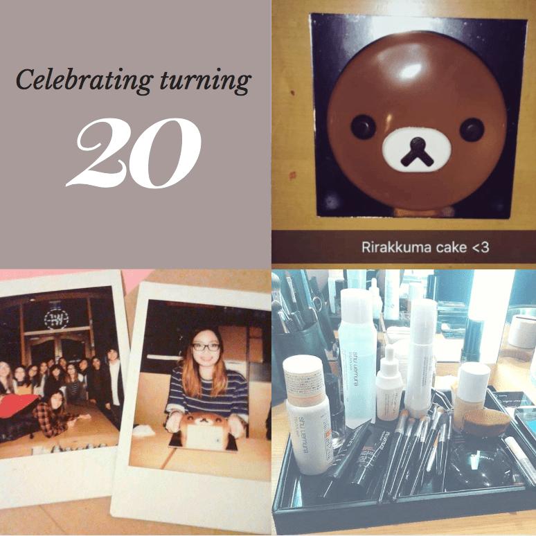 How I celebrated my 20th birthday