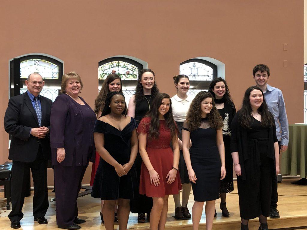 2020 Honors Recital participants