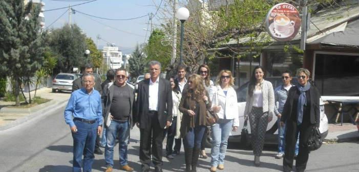 Στις γειτονιές της Λυκόβρυσης ο Γ. Θεοδωρακόπουλος