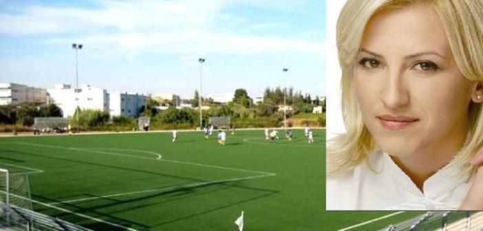 Ρ. Δούρου: «Γήπεδα για τις ομάδες και όχι τους εργολάβους»