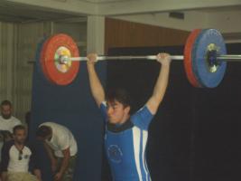 Νικόλαος Παντελόπουλος - αθλητής Άρσης Βαρών ΠΑΚ Χαλανδρίου