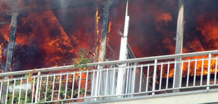 Φωτιά σε διαμέρισμα στη Ν. Ιωνία