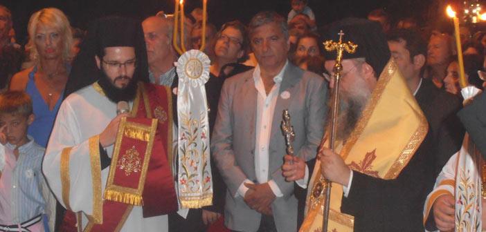 Στον εορτασμό του Αγ. Παντελεήμονος ο δήμαρχος Αμαρουσίου