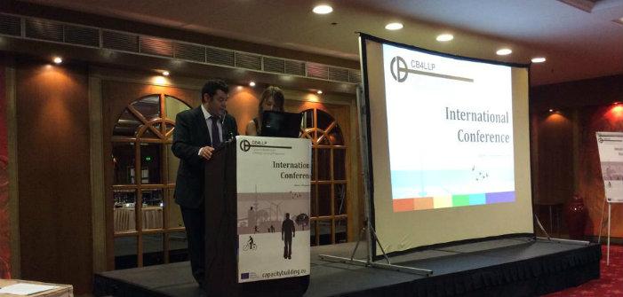 Έναρξη εργασιών διεθνούς συνεδρίου από τον Τ. Μαυρίδη