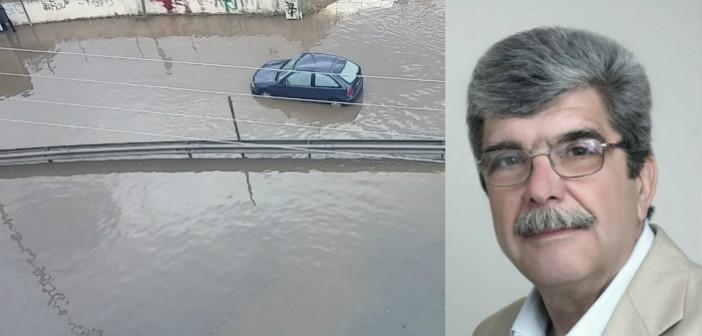 ΕΝΟΤΗΤΑ: «Αγχωμένη ανακοίνωση Γ. Πατούλη για τις πλημμύρες»
