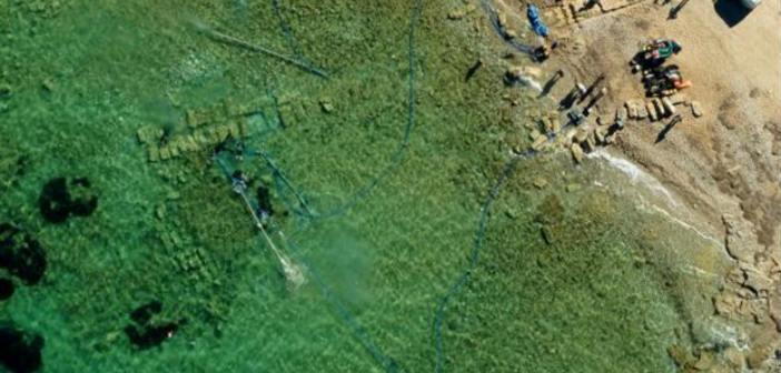 Εντυπωσιακά ευρήματα στον αρχαίο λιμένα του Λέχαιου