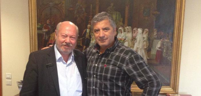 Με τον νέο πρόεδρο της ΠΕΔ Ιονίων Νήσων συναντήθηκε ο Γ. Πατούλης