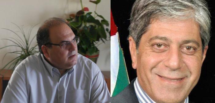 Συνάντηση Σ. Ρούσσου με τον πρέσβη του Κράτους της Παλαιστίνης